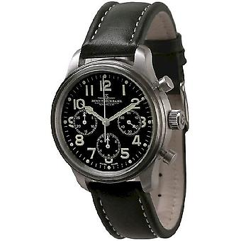 Zeno-watch Herre ur NC pilot chronograph 2020 9559TH-3-a1