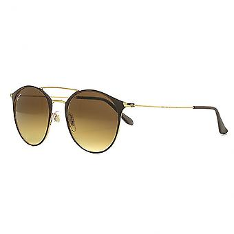 Ray Ban Sunglasses Round Shape 0rb3546 900985 / 52 Unisex Brown Gradient Sunglasses
