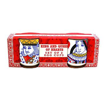 King and Queen of Hearts Egg Cups
