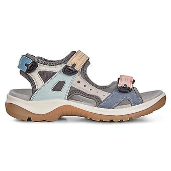 ECCO Womens 2019 Offroad kudde sula läder lätta sandaler