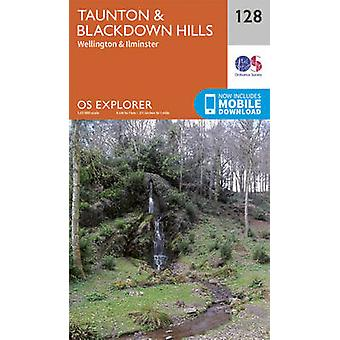 Taunton and Blackdown Hills by Ordnance Survey - 9780319243244 Book
