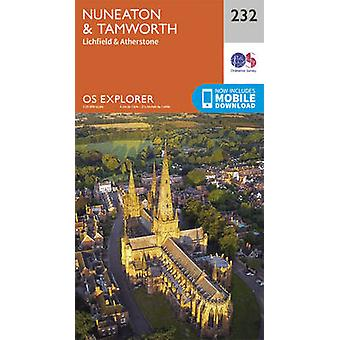 Nuneaton and Tamworth by Ordnance Survey - 9780319244258 Book