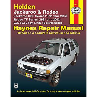 Holden Rodeo & Jackaroo (91 - 02) by Robert Maddox - 9781563926457 Bo