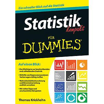 Statistik Kompakt Fur Dummies by Thomas Krickhahn - Deborah J. Rumsey