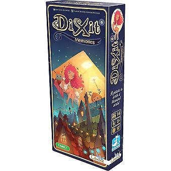 Asmodee Editions Dixit 6 ekspansion Memories Pack Card spil