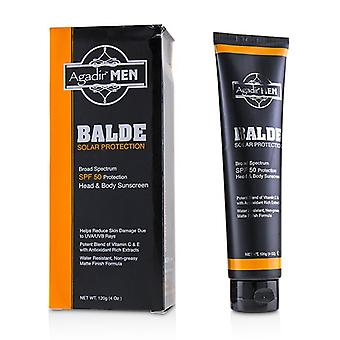 Agadir Argan Oil Agadir Men Balde Solar Protection Broad Spectrum Spf50 - 120ml/4oz