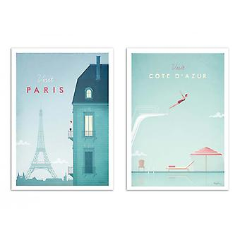 2 Art-Posters - Visit France - Henry Rivers
