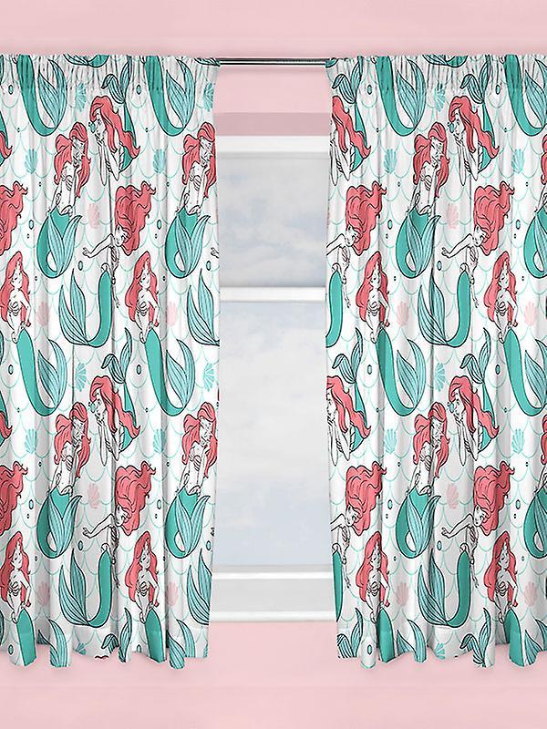 Disney Princess Ariel Little Mermaid Curtains