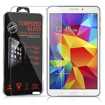 Cadorabo Tank Foil for Samsung Galaxy Tab 4 (8 inch) - Protective Film in KRISTALL KLAR - Tempered Display Protective Glass in 9H Hardness with 3D Touch Compatibility
