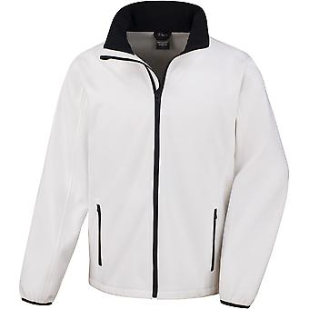 Result Core - Printable Softshell Mens Jacket