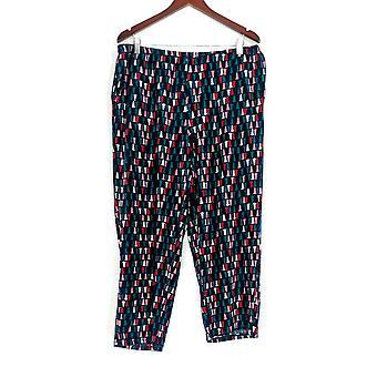 Carole Hochman Women's Lounge Pants, Sleep Pants TM Tall Blue A311261