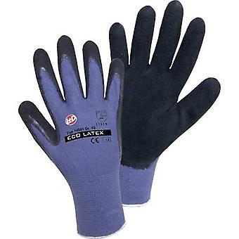 L+D worky ECO LATEX FOAM 14901-7 Rayon Schutzhandschuh Größe (Handschuhe): 7, S EN 388 CAT II 1 Paar