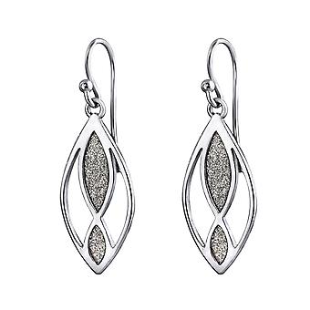 Infinity - 925 Sterling Silver Plain Earrings - W34500x