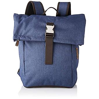 BREE Collection Punch Style 93 Jeans Denim B.p. M S19 - Unisex Adult Blue Backpacks (Jeans Denim) 12x46x28 cm (B x H T)