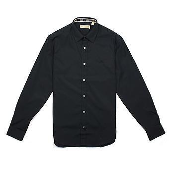 Burberry Cambridge pitkähihainen paita musta