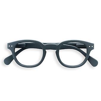 IZIPIZI #c グレー老眼鏡