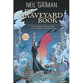 The Graveyard Book Graphic Novel Single Volume by Neil Gaiman - 97800