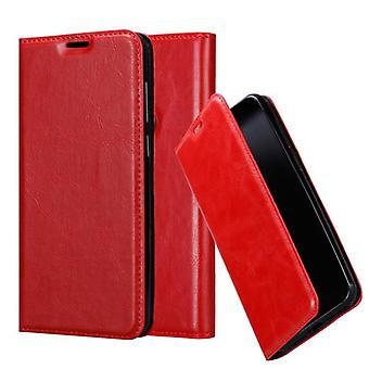 Cadorabo Case per Samsung Galaxy A6S Case Cover - Custodia del telefono con chiusura magnetica, funzione Stand e custodia per scheda - Case Cover Case Case Case Book Folding Style