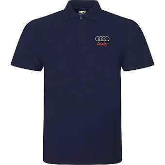 Audi Hoops Motoring Embroidered Logo - Polo Shirt