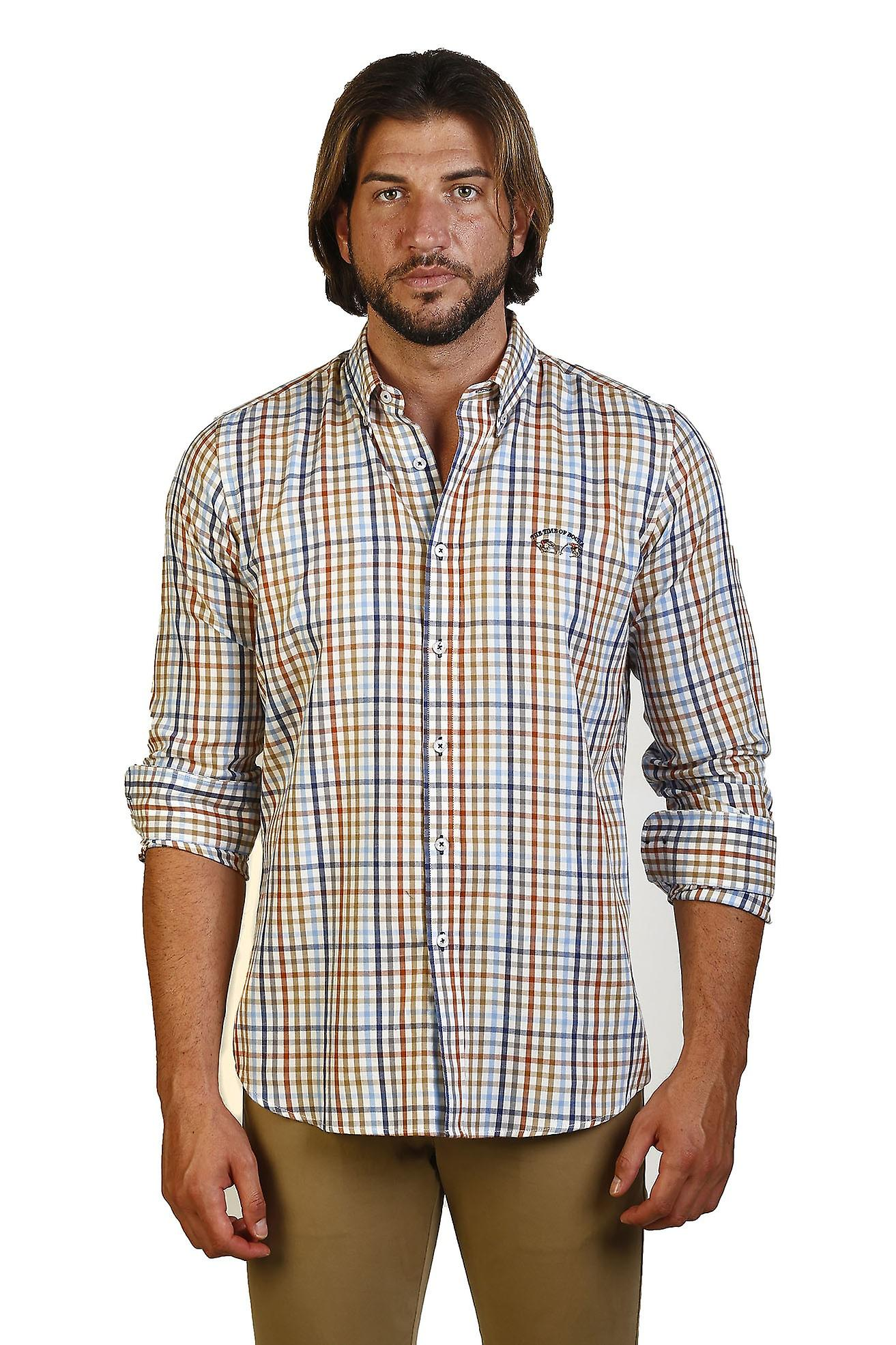 Camisa Hombre The Time Of Bocha JI1VILLELACAB-432 706