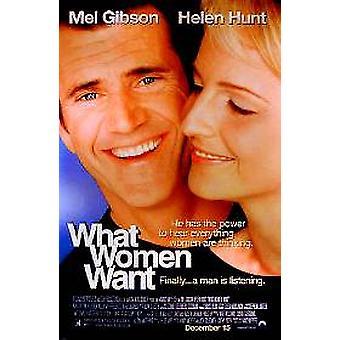 Mitä naiset haluavat alkuperäisen elokuvan juliste