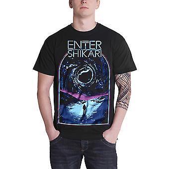 Enter Shikari T Shirt Sky Break band logo new Official Mens Black