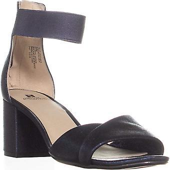 WHITE MOUNTAIN Ever Block Heel Sandals, Sapphire, 9 US