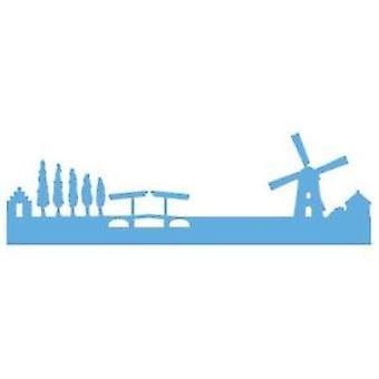 Marianne Design weergegeven Holland Horizon sterven, metaal, blauw