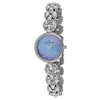 Christian Van Sant Women's Perla Blue mother of pearl Dial Watch - CV0611