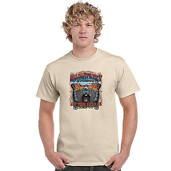 Hommes-apos;s T Shirt Main Street Of America: Get Your Kicks On Short Sleeve