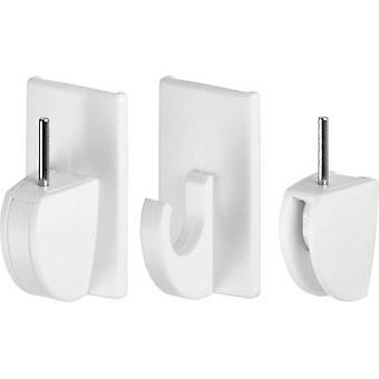tesa 58034-07-01 Tesa PowersTRIPS ® فاريو ستارة السنانير المحتوى الأبيض: 4 أجهزة الكمبيوتر (ق)