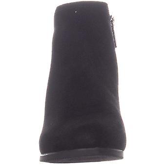 Aqua Tammy Ankle Boots, Black Suede, 8.5 US / 39.5 EU