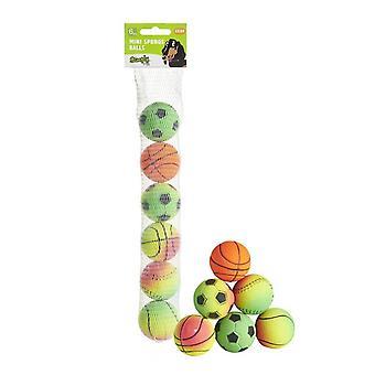 Sharples Sponge Dog Toy Balls