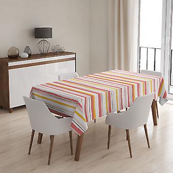 Meesoz Tischdecke - Painted Stripes Blush