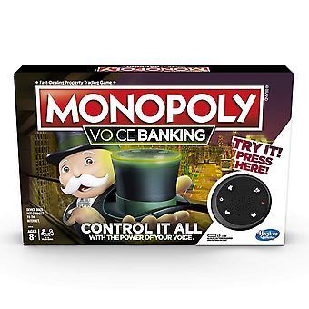 Hasbro Monopoly hlasové bankovníctvo elektronická rodina doskové hry