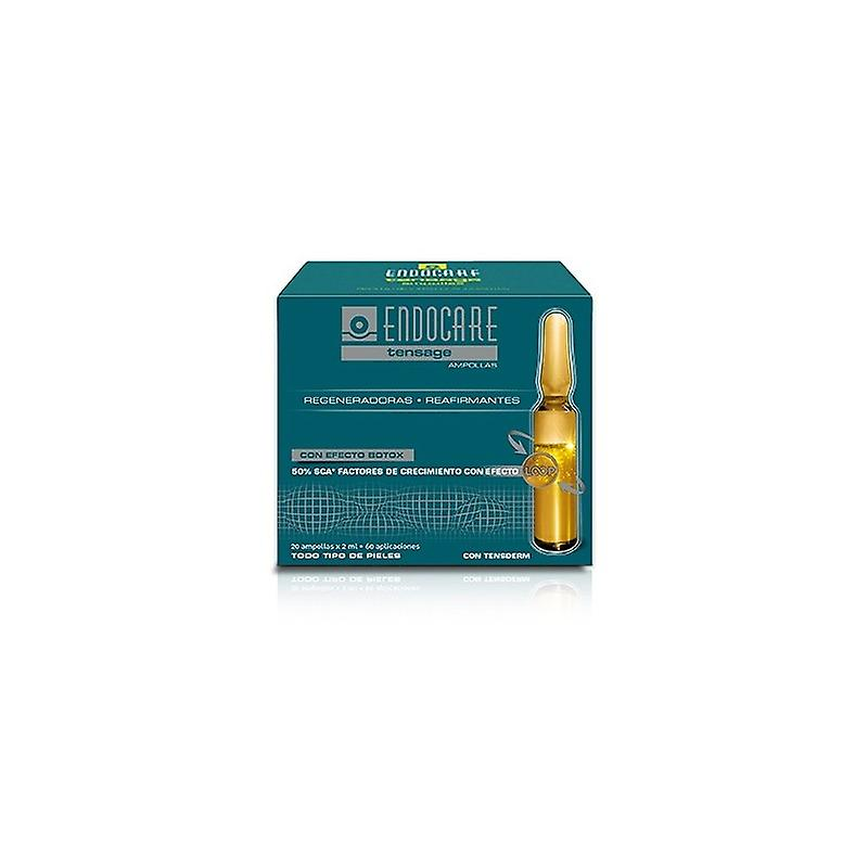 Endocare Tensage Blisters Effect Tensor 20 Ampoules X2 Ml