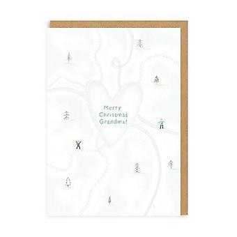 oh Deer Love Heart Grandma Christmas Card Oh Deer Love Heart Grandma Christmas Card Oh Deer Love Heart Grandma Christmas Card Oh De