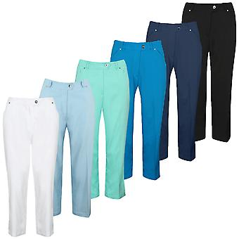 Island Green Womens 1727 Mid Length Durable Stylish Golf Trousers