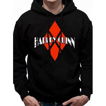 Batman Harley unissex adultos Quinn Diamond logo hoodie