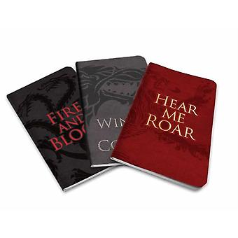 Game of Thrones Pocket Notebook Collection