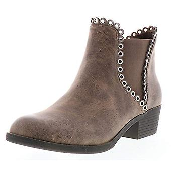 Sbicca Women's Marjorie Ankle Boot, Taupe 1, 6.5 M US