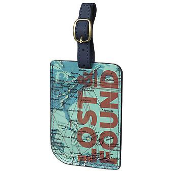 Cartography Luggage Tag by Wild & Wolf