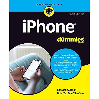 iPhone For Dummies 13th Edition by Baig & Edward C