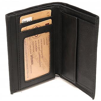 Portfolio 2 Volets - Press Pocket - Pelle
