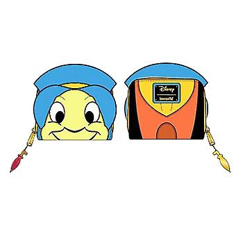 Pinocchio kukkaro Jiminy kriketti kasvot uusi virallinen Loungfly Disney