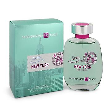 Mandarina duck let's travel to new york eau de toilette spray by mandarina duck 548954 100 ml