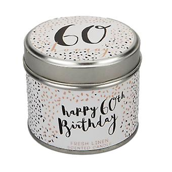 Luxe 60th Birthday Scented Candle| Gifts from Handpicked