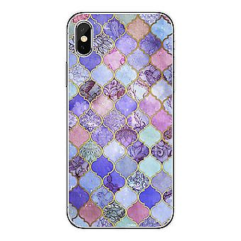 Mobile shell for iPhone11 with oriental mosaic patterns
