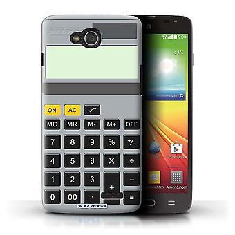 STUFF4 Case/Cover for LG L90 Dual/D410/Calculator/Keys/Buttons