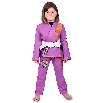 Tatami Fightwear Meerkatsu Kids Animal BJJ Gi - Purple